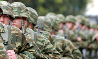 Ανακλήθηκαν οι άδειες των μελών των ενόπλων δυνάμεων