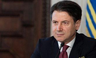Ιταλικά ΜΜΕ: Το πρωί της Τρίτης παραιτείται ο Τζουζέπε Κόντε