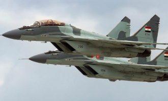 MiG-29 επιτέθηκαν σε τουρκική φρεγάτα στη Μεσόγειο και τουρκικό εμπορικό στην Τρίπολη