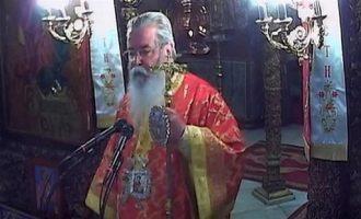 Μητροπολίτης Κοζάνης: Ο διάβολος έκλεισε τις εκκλησίες, όχι ο κορωνοϊός