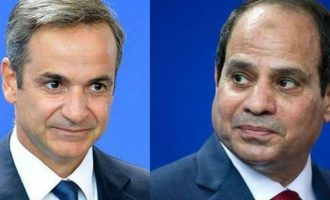 Μητσοτάκης και Σίσι απέρριψαν κάθε ξένη παρέμβαση στην κρίση της Λιβύης