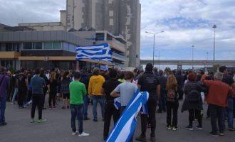 Συγκέντρωση διαμαρτυρίας στη Σούδα κατά της έλευσης μεταναστών στο νησί