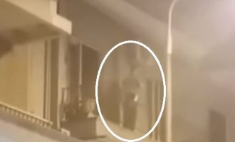 Μεθυσμένος Θεσσαλονικιός πετούσε γλάστρες σε θαμώνες καφετέριας (βίντεο)