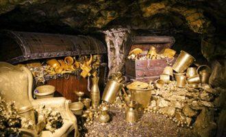 Λουτράκι: Αμύθητο θησαυρό λέγεται ότι έψαχναν οι τέσσερις – Το χρυσάφι του Μέρτεν ή του Κιαμήλ Μπέη