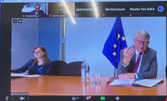 Μίχαλος σε Επίτροπο Νίκολα Σμιτ: Περισσότερα κονδύλια για επιχειρήσεις και εργαζόμενους