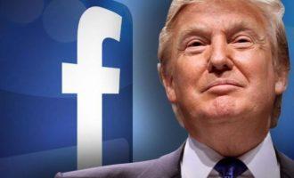 Το Facebook «κατέβασε» διαφημίσεις του Τραμπ γιατί παρέπεμπαν σε σύμβολα που έφεραν οι κρατούμενοι των ναζί