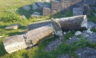 Αλβανία: Άγνωστοι κατέστρεψαν το Νυμφαίο στον αρχαιολογικό χώρο της Απολλωνίας