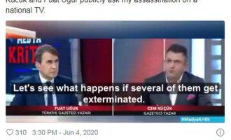 «Παπαγαλάκια» του Ερντογάν απειλούν με δολοφονίες δημοσιογράφων στο εξωτερικό (βίντεο)