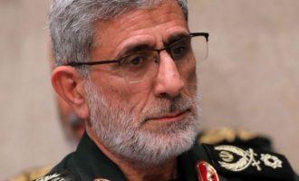 Ο επικεφαλής των «Κουντς» κατηγόρησε ΗΠΑ και Ισραήλ ότι υποστηρίζουν το Ισλαμικό Κράτος