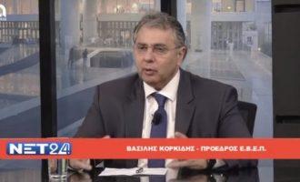 Βασίλης Κορκίδης: Όχι στα τοκογλυφικά επιτόκια