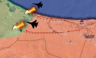 Πολεμικά αεροσκάφη του LNA κατέστρεψαν μια πυροβολαρχία ισλαμιστών – Νεκροί Τούρκοι αξιωματικοί