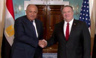 Τηλεφωνική επικοινωνία Πομπέο-Σούκρι για Λιβύη, Συρία, Υεμένη και Αιθιοπία