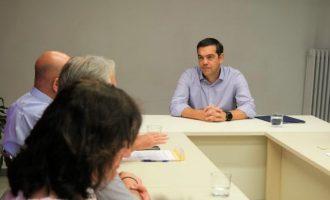 Αλ. Τσίπρας: Το νερό δεν μπορεί να μπει προς πώληση