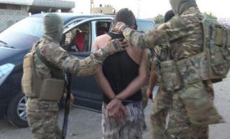 Εκατοντάδες συλλήψεις μελών του Ισλαμικού Κράτους από τις SDF Μάιο και Ιούνιο