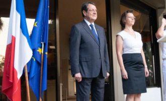 «Βαθύτατη εκτίμηση της Κύπρου» στην έμπρακτη αλληλεγγύη της Γαλλίας