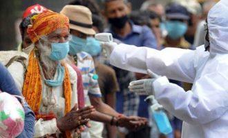 Ινδία κορωνοϊός: 95.735 νέα κρούσματα το τελευταίο 24ωρο
