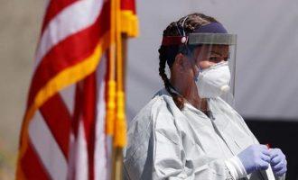 Νέο θλιβερό ρεκόρ κρουσμάτων κορωνοϊού στις ΗΠΑ – 65.000 σε 24 ώρες