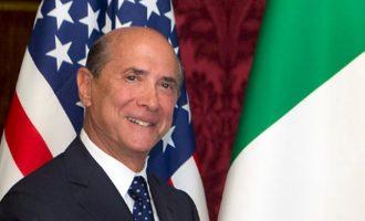 Αμερικανός Πρέσβης Ρώμη: Ρωσία και Τουρκία να εγκαταλείψουν τη Λιβύη