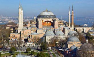 Τι ανακοίνωσε η UNESCO μετά τη μετατροπή της Αγίας Σοφίας σε τζαμί