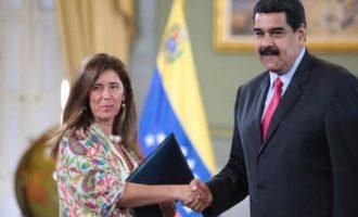 Η Βενεζουέλα ακύρωσε την απέλαση της πρέσβειρας της ΕΕ στο Καράκας