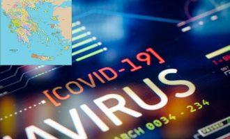 Κορωνοϊός: 2.301 κρούσματα, 452 διασωληνωμένοι, 41 θάνατοι – Η «γεωγραφία» των κρουσμάτων