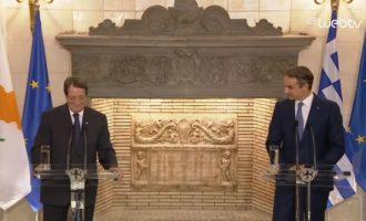 Μητσοτάκης: Η στάση της Τουρκίας χρήζει ευρωπαϊκής απάντησης – Ώρα για δυναμικότερες αντιδράσεις