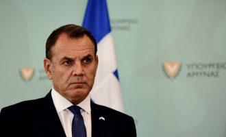 Παναγιωτόπουλος: Οι Ένοπλες Δυνάμεις είναι το σπαθί της Ελλάδας