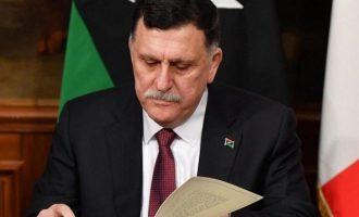 Λιβύη: O Σαράτζ ανακοίνωσε ότι αποσύρει την παραίτησή του