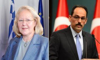 «To BHMA» «αποκαλύπτει» τι συζήτησαν Σουρανή-Καλίν – Τα ονομάζει «Πρωτόκολλα του Βερολίνου»