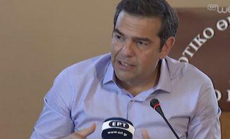 Τσίπρας: «Ανοσία αγέλης» στην οικονομία από την κυβέρνηση της ΝΔ
