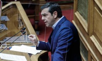 Ο Τσίπρας κατηγόρησε τη Γεννηματά ότι είναι κόντρα στις ιδέες της δημοκρατικής παράταξης