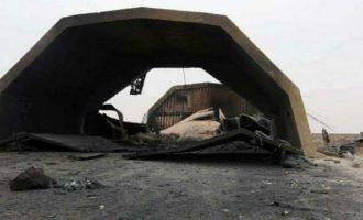 Κλαίνε Τούρκοι και Τουρκολίβυοι μετά τον βομβαρδισμό της τουρκικής βάσης στην Αλ Ουατίγια