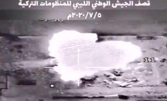 Οι Τούρκοι παραδέχτηκαν ότι βομβαρδίστηκαν στη Λιβύη – Τι λένε