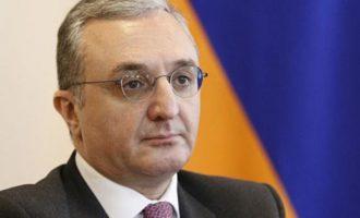 ΥΠΕΞ Αρμενίας: «Θα αντιπαρατεθούμε ενάντια σε όλες τις φιλοδοξίες της Τουρκίας στην περιοχή»