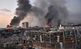 Εκρήξεις Βηρυτός: 100 νεκροί και σχεδόν 4.000 τραυματίες – Πολλοί αγνοούμενοι
