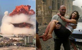Το Ισραήλ δεν έχει καμία σχέση με τις εκρήξεις στη Βηρυτό