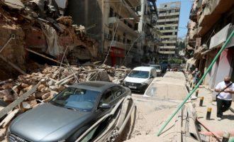 Εκρήξεις Βηρυτός: Έως 300.000 άνθρωποι έχουν μείνει άστεγοι