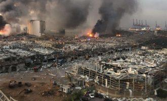 Εκρήξεις στη Βηρυτό: Στους 50 οι νεκροί, τουλάχιστον 2.750 οι τραυματίες