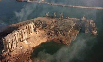Η Τουρκία προσφέρθηκε να ανοικοδομήσει το λιμάνι τη Βηρυτού