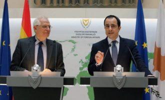 Τηλεφωνική επικοινωνία Χριστοδουλίδη-Μπορέλ για την κατάσταση στην Αν. Μεσόγειο