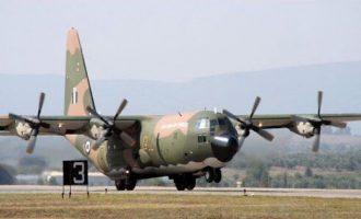 Ομάδα της ΕΜΑΚ με C-130 στη Βηρυτό για να συνδράμει στις έρευνες διάσωσης