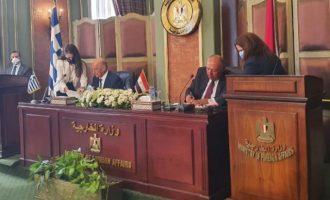 Η Ελλάδα υπέγραψε συμφωνία οριοθέτησης ΑΟΖ με την Αίγυπτο (χάρτης)
