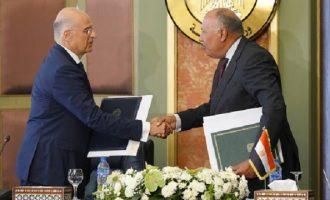Το «Βήμα» δημοσίευσε το κείμενο συμφωνίας Ελλάδας-Αιγύπτου για την οριοθέτηση ΑΟΖ