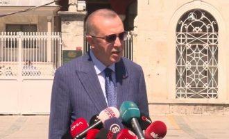Ο Ερντογάν εύχεται να… απαλλαγεί από τον Εμ. Μακρόν – Μεγάλη απελπισία