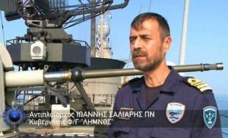 Ο Νίκος Στέφος αποκαλύπτει πώς η «ΛΗΜΝΟΣ» έθεσε εκτός μάχης τη «Κεμάλ Ρέις»