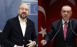 Σαρλ Μισέλ σε Ερντογάν: Η ΕΕ στο πλευρό  Ελλάδας και Κύπρου – Άκυρη η συμφωνία σου με τον Σάρατζ