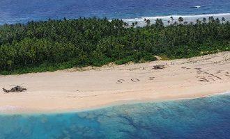 Πώς σώθηκαν τρεις ναυαγοί που είχαν χαθεί για μέρες σε νησί του Ειρηνικού