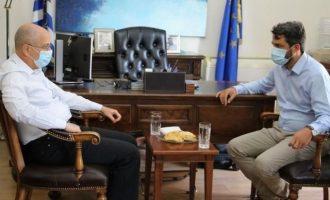 Ο πρεσβευτής του Ισραήλ στα Χανιά – Τι συζήτησε με τη Δημοτική Αρχή