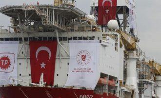 Συνεχίζει τις προκλήσεις η Τουρκία: Εξέδωσε νέα NAVTEX για γεωτρήσεις του Γιαβούζ στην Κυπριακή ΑΟΖ