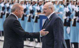Bloomberg: «Ιδού η κραταιά ΕΕ» – «Ψαράκι» που χλευάζουν Ερντογάν-Λουκασένκο